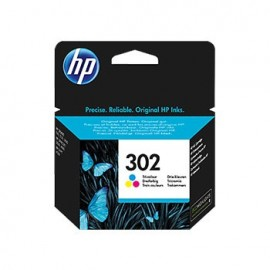Tinteiro HP Officejet 3800/3830 Nº302 Cores - HPF6U65A